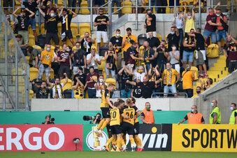 Dynamos Sensation: 4:1 im Pokal gegen HSV