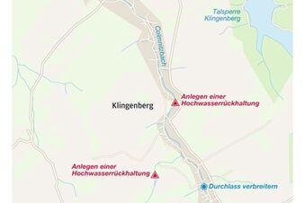 Wie der Colmnitzbach gezähmt werden soll