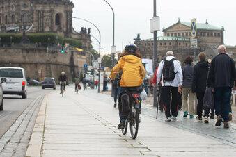 Neuer Radwegeplan für Dresdens Terrassenufer