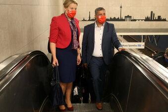 Giffey und Saleh führen Berliner SPD