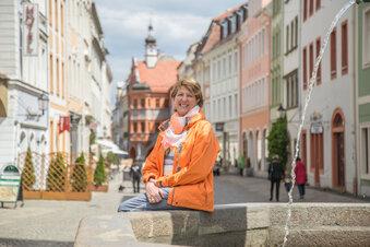 Sie wartet in Görlitz auf die ersten Touristen