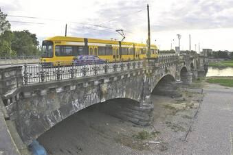 An der Albertbrücke droht langer Stillstand