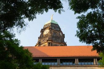 Wann Dresdens Rathausturm wieder öffnen soll