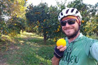 Wie Corona einen Langzeitradler stoppt