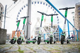 Dresden: E-Roller sorgen für Ärger