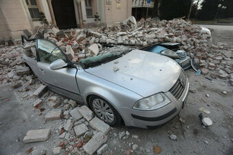 Nach Erdbebenserie: Kroatien unter Schock