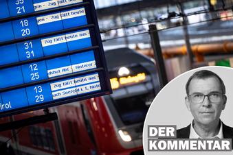 Streik bei Bahn: Die Verlierer stehen an der Bahnsteigkante