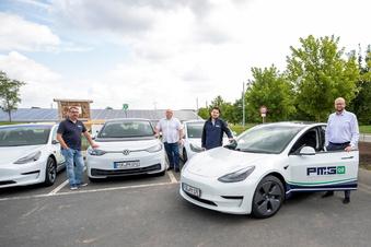 Wilsdruff: Ein E-Auto für 150 Euro im Monat