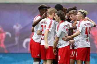 Leipzig macht die Champions League klar