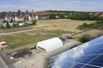 Hier soll Riesas erster Solarpark entstehen