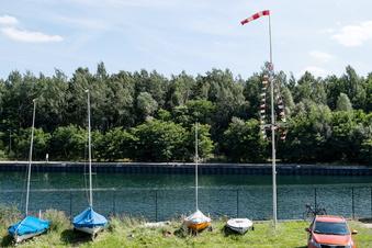 Segler am Berzdorfer See: Myckert sieht keine Konkurrenz