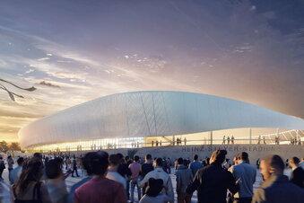 Von wem das Heinz-Steyer-Stadion umgebaut wird