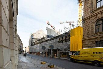 Palais Hoym: Warum stockt der Dresdner Neumarkt-Bau?