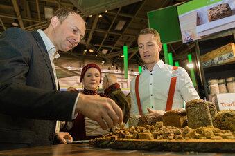 Sachsens grüner Minister erstmals auf Grüner Woche