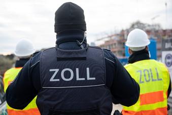 Zoll kontrolliert Baustellen in Sachsen