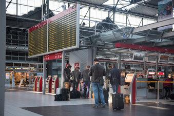 Fluggäste: Leipzig toppt, Dresden floppt