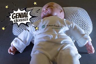 Dresdner Erfinder schützt Babys mit neuartigem Kissen