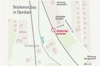 Bau der Salzwegbrücke soll 2019 beginnen
