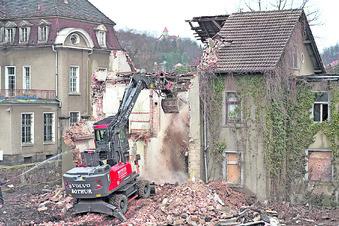 Alter Fischladen wird abgerissen