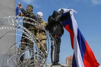 Abspaltungsversuche in Ost-Ukraine