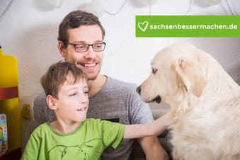 Wie ein Hund einem autistischen Kind hilft