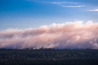 Trockenheit heizt Waldbrände an