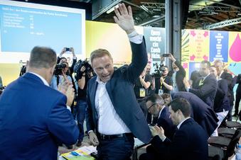 Lindner als FDP-Chef wiedergewählt