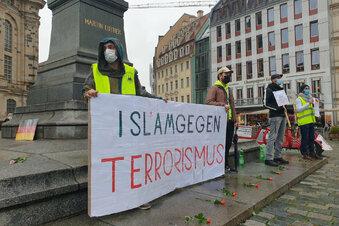 """Dresdner Muslime: """"Zeigen, dass wir gegen Terror sind"""""""