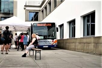Impfmobil kommt in die Dresdner Neustadt