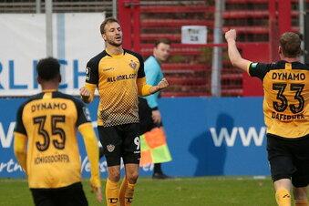 Dynamos Sohm: Seine ersten Tore gegen den Frust