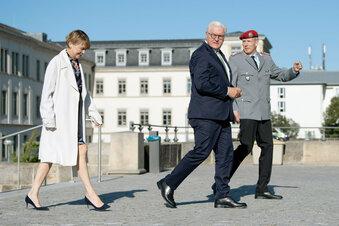 Steinmeier trifft Corona-Helfer in Dresden