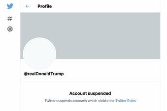 Twitter sperrt Trump - dauerhaft
