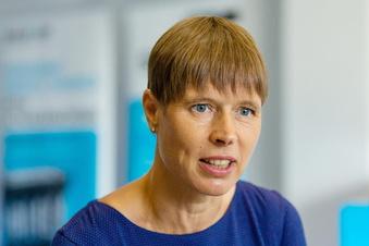 Estlands Ex-Präsidentin zeigt Pannenvideo