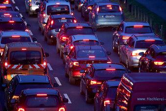 Stundenlange Sperrung der A14 bei Leipzig