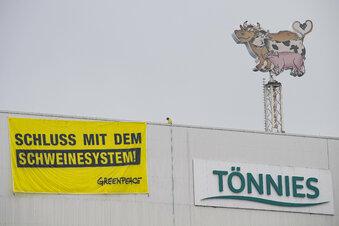 Proteste gegen Schlachter Tönnies