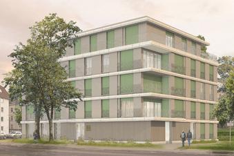 Hier entstehen neue Wohnungen für Dresden