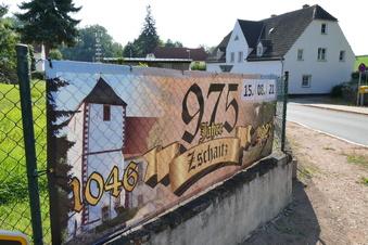 Klein, aber fein: Zschaitz feiert 975. Jahrestag
