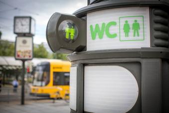 Dresden lässt öffentliche Toiletten abbauen