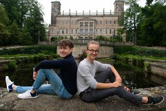 Virtuelle Party auf Schloss Albrechtsberg