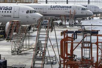 Wie Flugzeuge in Corona-Zeiten fit bleiben
