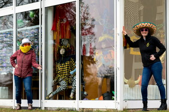 Kostümschau statt Faschingsumzug in Reinhardtsdorf