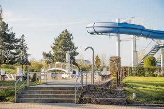 Wasserschaden im Strehlaer Freibad