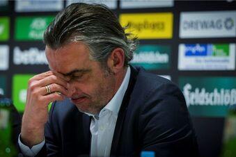 Minge droht Dynamo mit Rücktritt