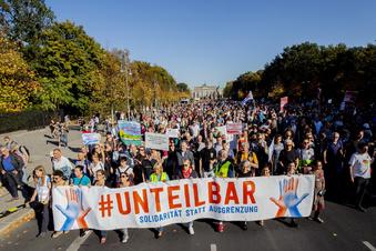 Volkssolidarität beteiligt sich an Unteilbar-Demo