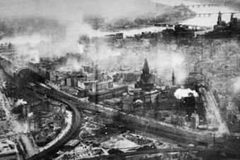 Die verschonte Stadt wird Trümmerwüste