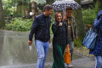 Warum Robert Habeck im Regen steht