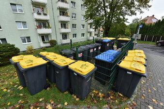 Freital: Ärger um Gelbe Tonnen