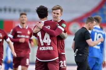 Dynamo feiert Kantersieg gegen Meppen