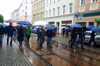 Corona-Proteste in Görlitz gehen weiter