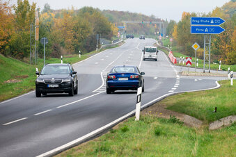 Heidenauer A17-Auffahrt wieder gesperrt